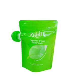 4 Baby food resuable pouch
