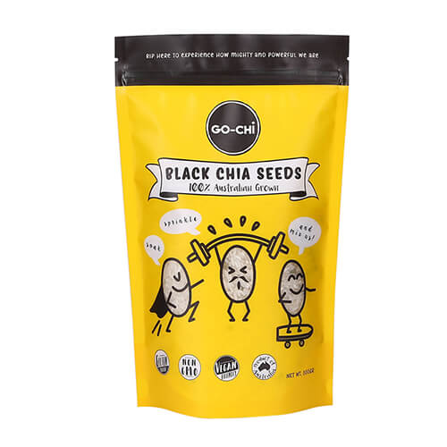 cookie stand up pouch